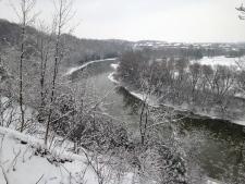Grand River snowy