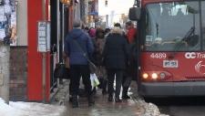 Elgin St bus stop