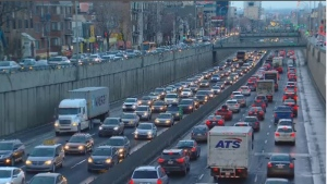 Montreal drivers spent 52 hours in traffic jams during peak time periods in 2016, according to a new study.