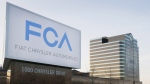 Fiat Chrysler Automobiles world headquarters in Auburn Hills, Mich., on May 6, 2014. (Carlos Osorio / AP)