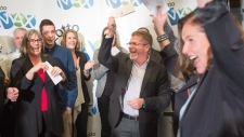 Lottery winners celebrate