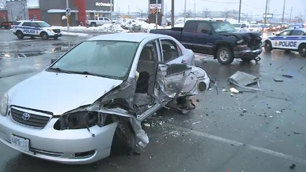 Innes rd. crash