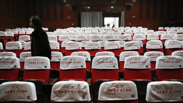 Cinemas sit empty in China