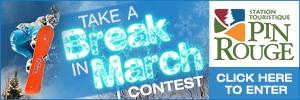 Take A Break Contest button
