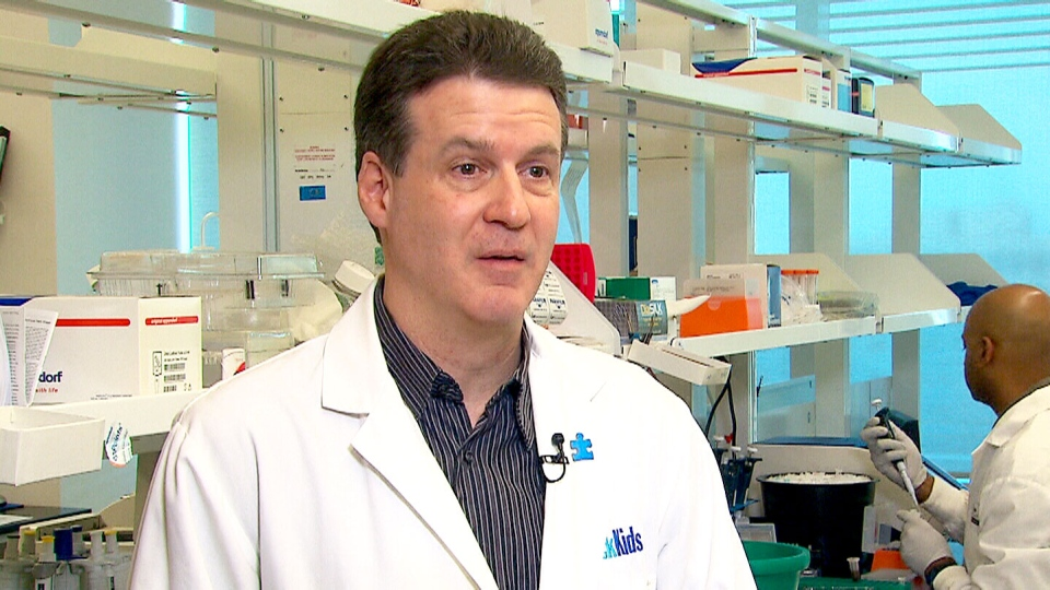 The Centre for Applied Genomics (TCAG) at Toronto's Hospital for Sick Children, Steve Scherer says the beaver genome was 'begging to be studied.' (CTV)