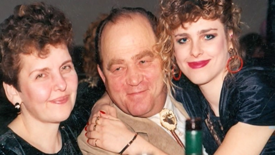 Arpad Horvath, centre, is seen with family members Lana, left,  and Andrea. (Courtesy Andrea Horvath)