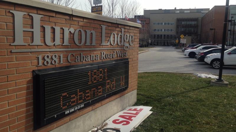 Huron Lodge in Windsor, Ont., on Friday, Jan. 13, 2017. (Rich Garton / CTV Windsor)