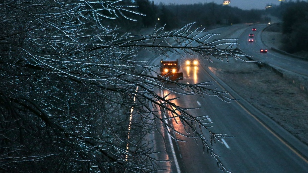 Ice Storm Warning, Freezing Rain Advisory issued for portions of Oklahoma