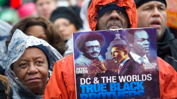 Civil rights advocates rally to honor the rev martin luther king jr