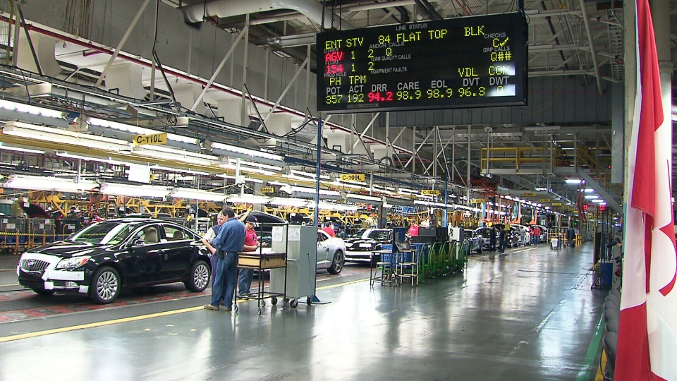 One in seven Canadians is either directly or indirectly employed in the automotive industry, according to the Canadian Vehicle Manufacturers' Association.