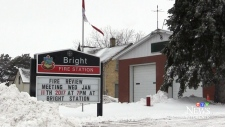 Bright fire station