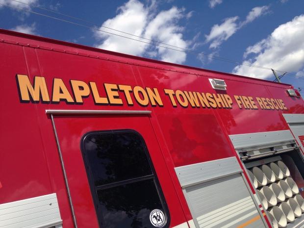 Mapleton Fire