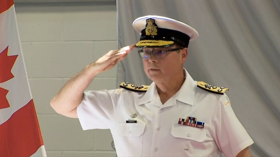 Vice chief of defence Mark Norman is shown in this undated image. (CTV News)