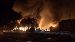 Fire destroys school, town hall and RCMP building
