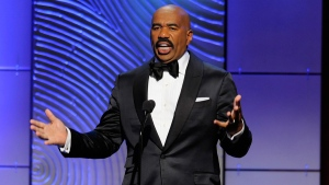 Steve Harvey at the 40th Annual Daytime Emmy Awards in Beverly Hills, Calif., on June 16, 2013. (Chris Pizzello / Invision)