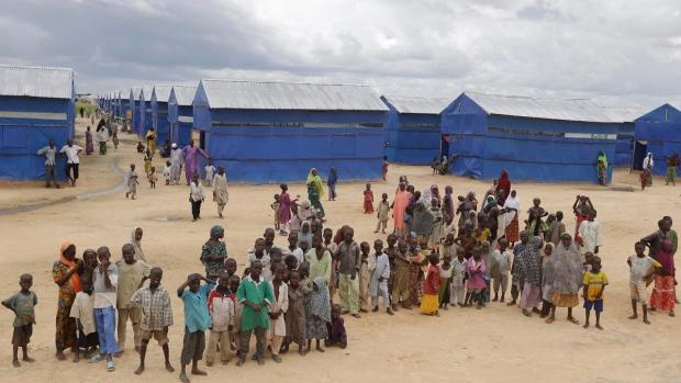 Bakassi camp in Maiduguri, Nigeria