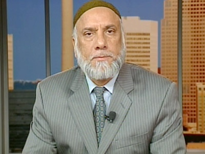 Syed Sohawardy, of the Islamic Supreme Council of Canada, speaks with Canada AM from CTV studios in Calgary on Tuesday, March 2, 2009.