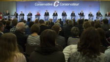 Conservative leadership debate in Quebec City