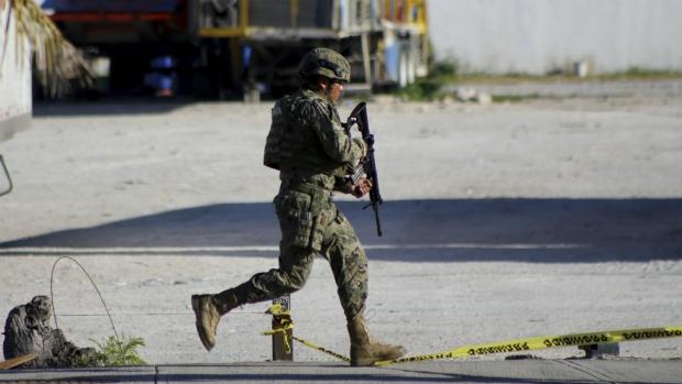Cancun shooting