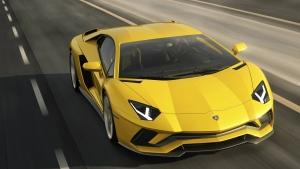 The Lamborghini Aventador S is seen in this provided image. © Lamborghini