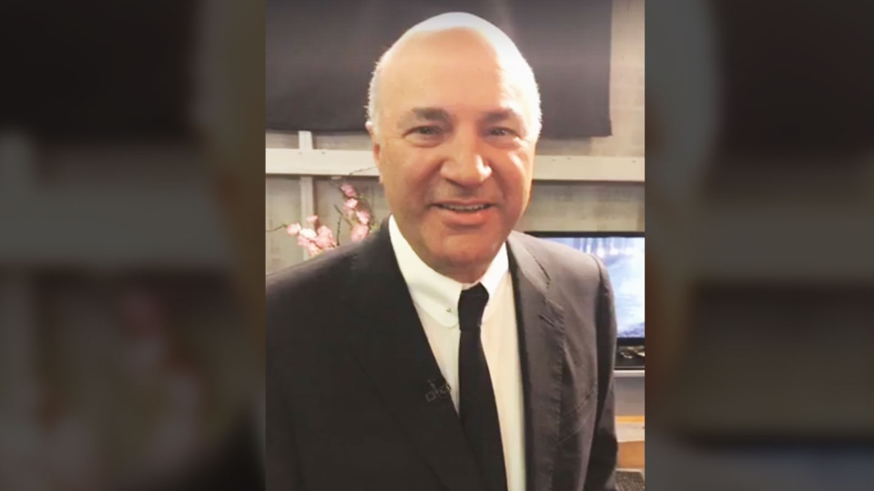 Celebrity investor Kevin O'Leary officially declared his intentions to run for leadership of the Conservative Party of Canada on Facebook on Wednesday, Jan. 18, 2016.