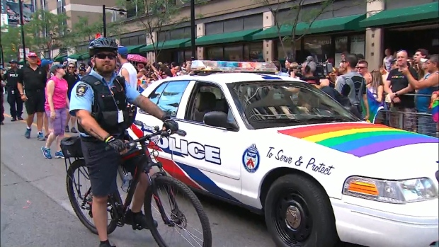Toronto police will not participate in this year's Pride Parade