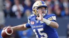 Matt Nichols and his wife Ali are donating $10,000 to the Children's Hospital Foundation for MRI goggles. (Source:The Canadian Press/John Woods)