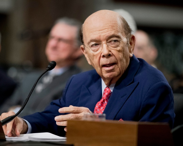 Commerce Secretary-designate Wilbur Ross testifies on Capitol Hill in Washington, Wednesday, Jan. 18, 2017, at his confirmation hearing before the Senate Commerce Committee. (AP / Manuel Balce Ceneta)