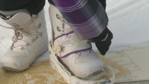 CTV Kitchener: Preparing to snowboard