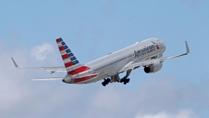 An American Airlines passenger jet takes off from Miami International Airport in Miami on June 3, 2016. (AP Photo/Alan Diaz)
