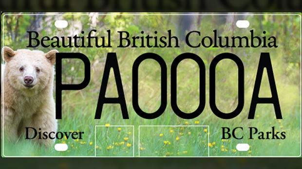 B.C. licence plates