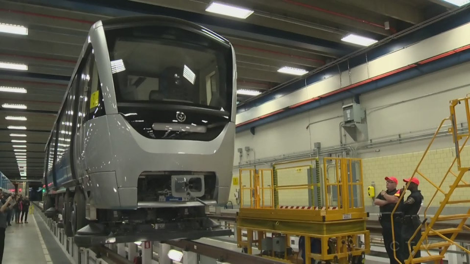Bombardier is building Azur trains, but lost the contract to build trains for the REM