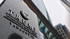 Trump hotel in Vancouver
