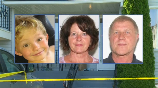 Alvin and Kathy Liknes and their grandson Nathan O'Brien went missing from their home in Parkhill on June 29, 2014.
