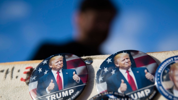 Donald Trump inauguration buttons