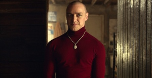 This image released by Universal Pictures shows James McAvoy in a scene from 'Split.'
