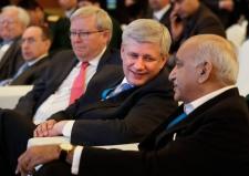Former prime minister Stephen Harper