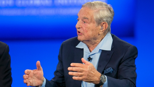 George Soros says Trump a 'would-be dictator' who will rattle markets