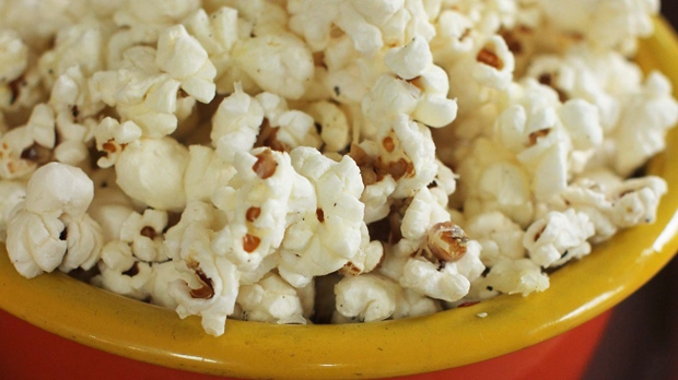 A man holding a popcorn box fled police in Guelph