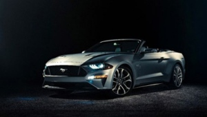 2018 Ford Mustang 5.0 GT Convertible © The Ford Motor Company