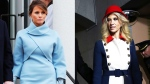 Trump and Conway, two takes on inaugural fashion