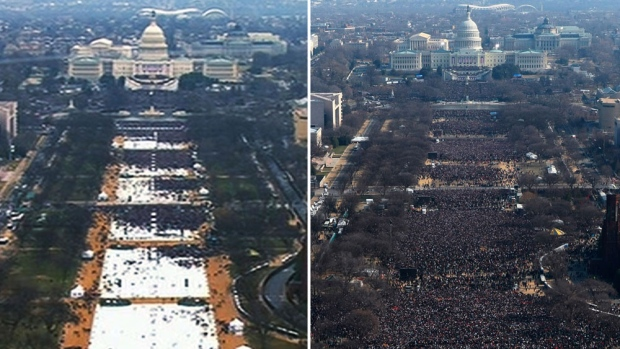 Fact check: Trump overstates crowd size at inaugural | CTV News