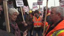 Bill 70 protest