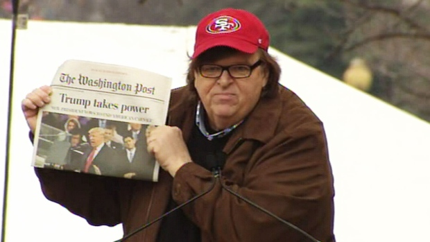 Michael Moore to take on Trump on Broadway this summer