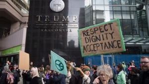 canadian protests