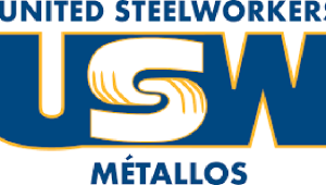 The United Steelworkers logo (USW)