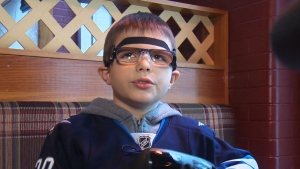CTV News Channel: Boy given gift of sight