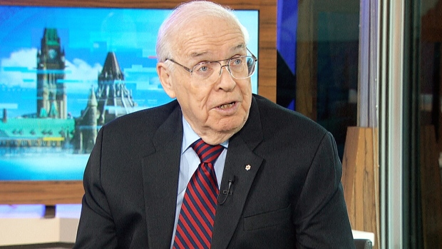 Former ambassador to the U.S. Derek Burney appears on CTV's Power Play, Monday, Jan. 23, 2017.