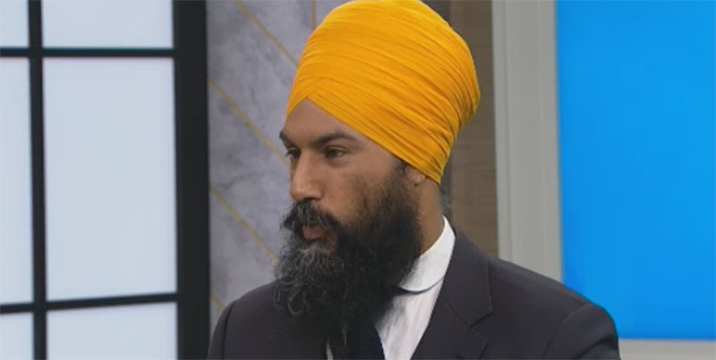 Jagmeet Singh speaks on CTV's Your Morning on Tuesday, Jan. 24, 2017.