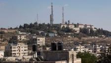 Part of the Israeli settlement of Psagot